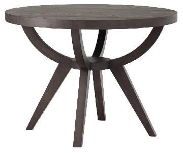 West Elm Arc Base Pedestal Round Table
