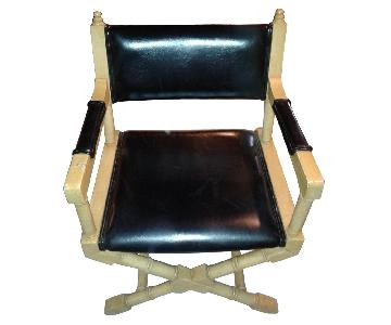 Leather Captain Chair