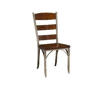 Home Style Bordeaux Dining Chairs in Espresso Finish
