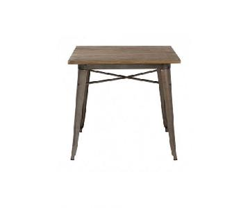 Zuo Mod Titus Dining Table in Rustic Wood