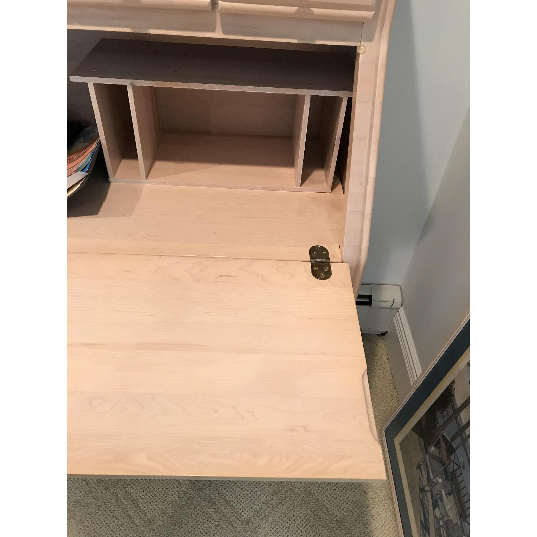 Image of: Dresser Desk W Fold Down Changing Table Aptdeco