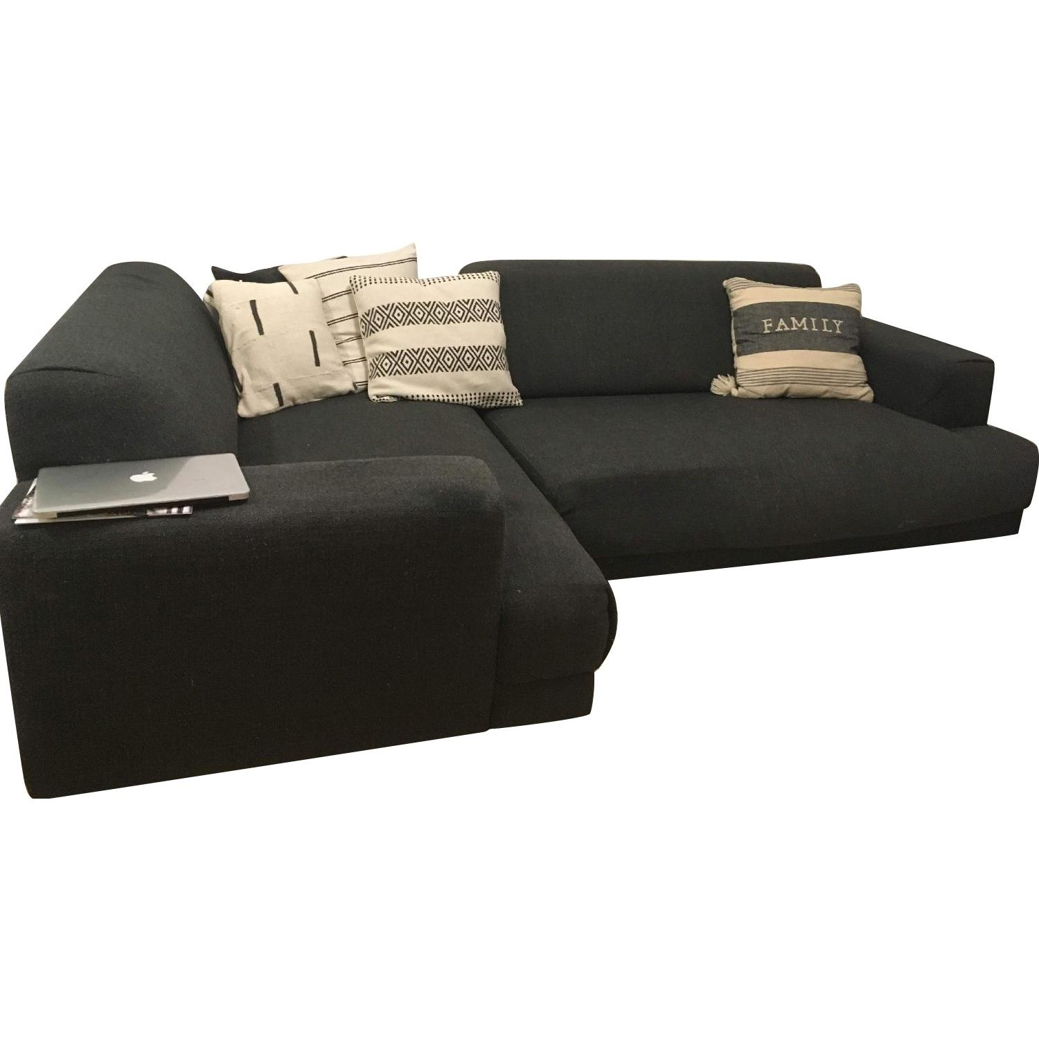 Crate & Barrel Annexe Collection Modular Sofa