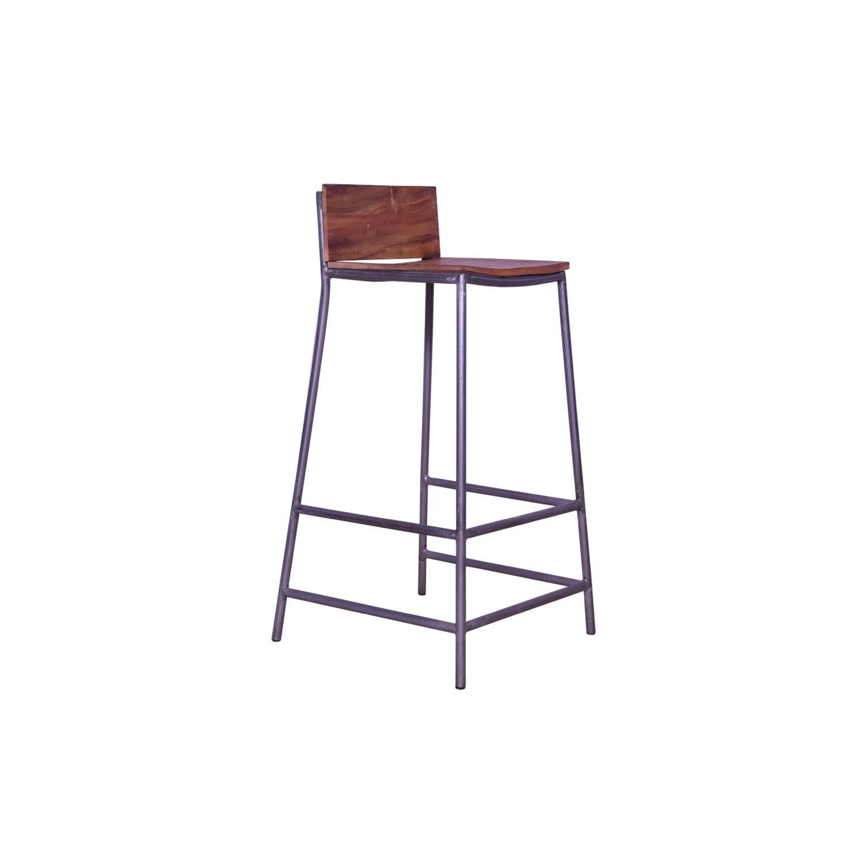 Perryn Iron Legs Bar Stool