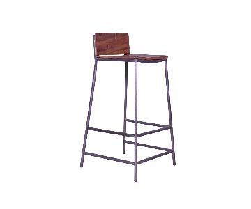 Perryn Iron Legs Bar Stool
