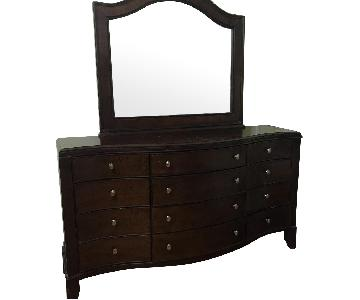 Macy's 12 Drawer Dresser w/ Mirror