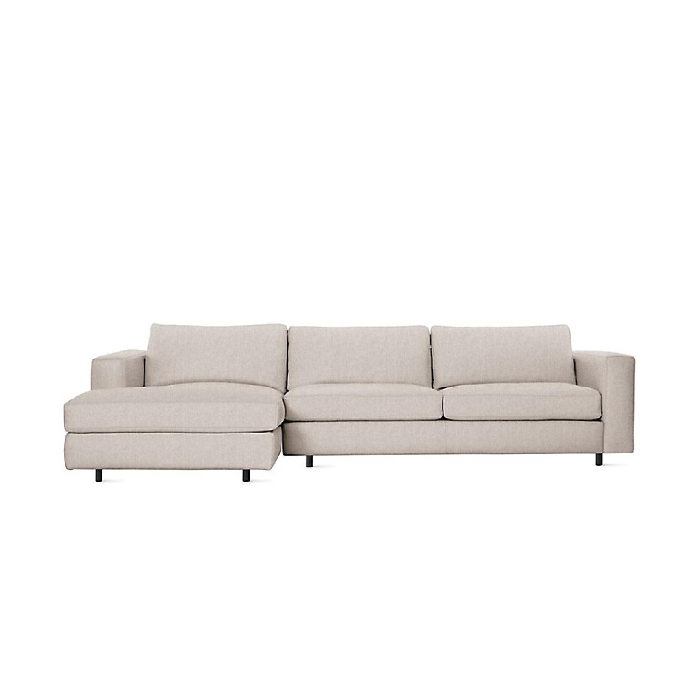 Design Within Reach Reid Left Chaise Sectional Sofa Aptdeco