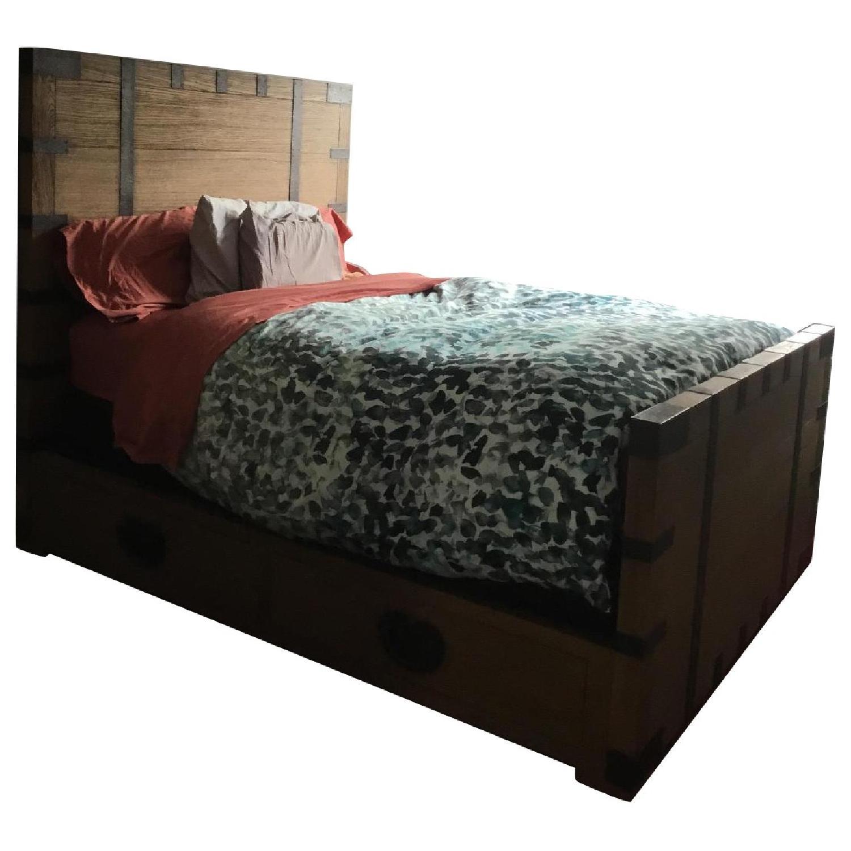 Restoration Hardware Heirloom Platform Storage Bed