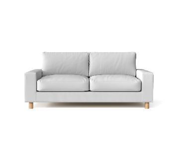 Muji Feather Cushion Sofa
