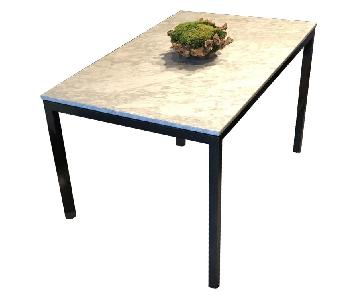 West Elm Carrera Marble Top Dining Table