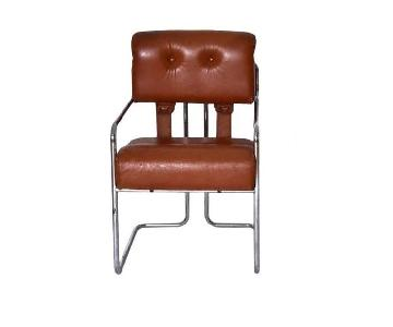 Pace Faleschini Tucroma Cantilever Arm Chairs