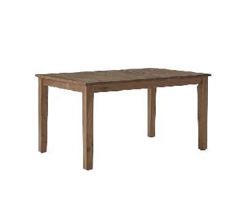 West Elm Rustic Farmhouse Table w/ 1 Bench