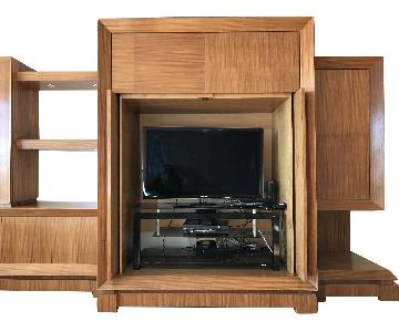 Cliff Young Custom 3 Piece Entertainment Center