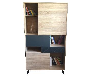 Tvilum Nashville 1 Drawer/3 Door Bookcase
