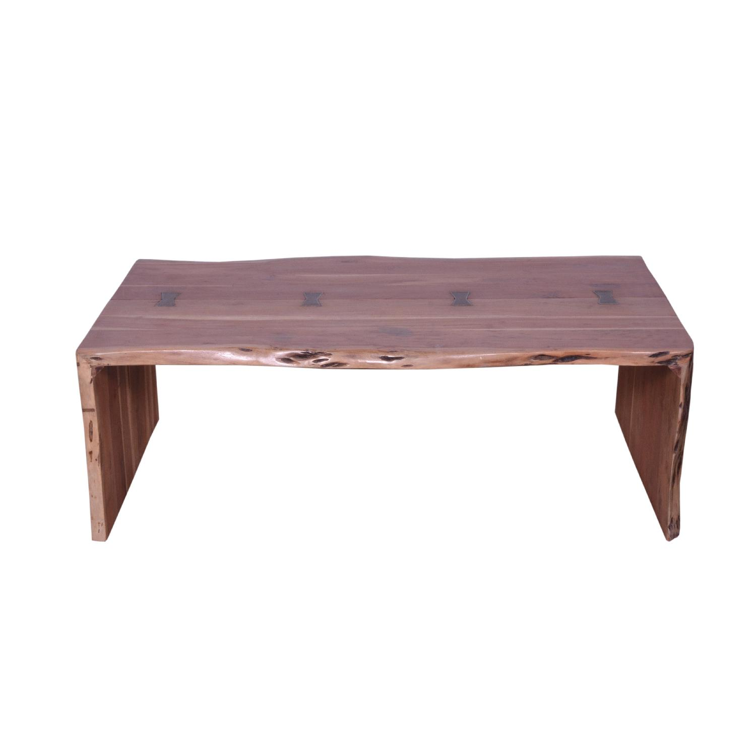 Elicia Wooden Coffee Table