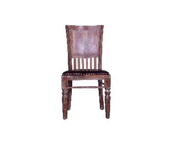 Cyrano Wooden Armless Dining Chair