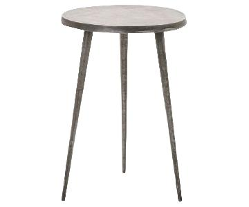 West Elm Tripod Side Table in Charcoal