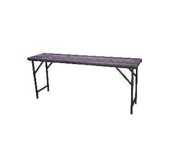 Aron Wooden Folding Table