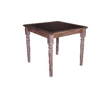 Javier Wooden Bar Table