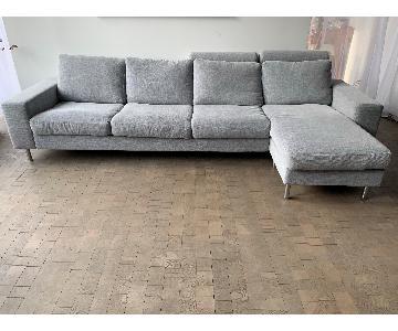 BoConcept 3-Piece Sectional Sofa w/ Chaise