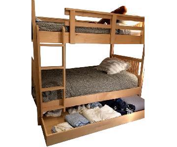 Room & Board Trundle Bunk Bed