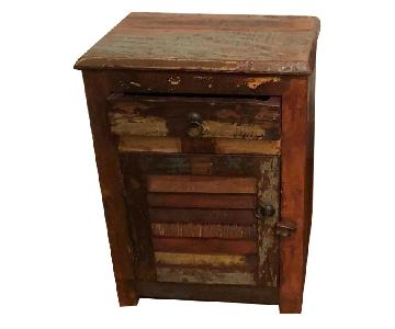 Reclaimed Wood Nightstands