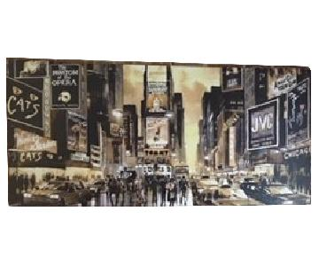 Times Square/Broadway NYC Painting Print