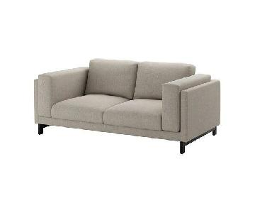 Ikea Nockeby Light Grey Sofa