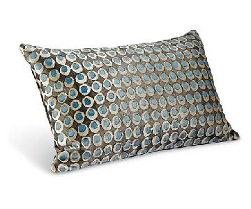 Room & Board Velvet Throw Pillows