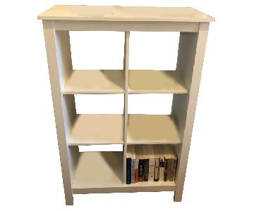 Ikea Tomnas Shelf Unit in White