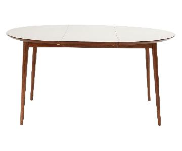 West Elm Fishs Eddy Expandable Dining Table