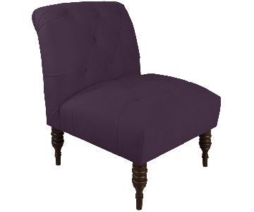 Skyline Furniture Modern Tufted Accent Chair