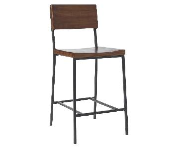 West Elm Rustic Bar/Counter Stools