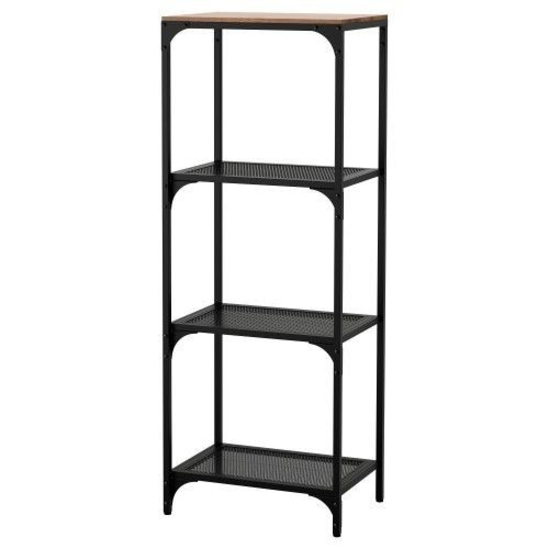 Ikea Fjallbo Shelf Unit in Black