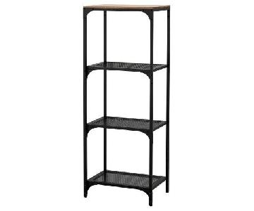 Ikea Fjallbo Shelf Unit in Black