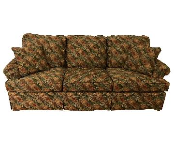 Millspaugh Floral Fabric 3 Cushion Sofa