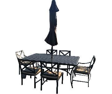 Restoration Outdoor/Patio 9-Piece Dining Set