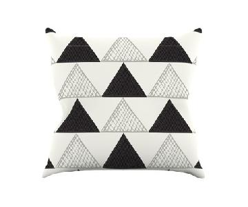Laurie Baars Textured Triangle Throw Pillows