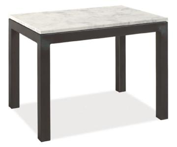 Room & Board Parsons Marble White Quartz Coffee + Side Table