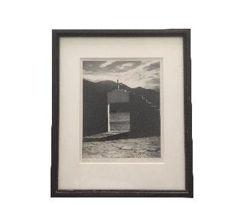 Mexico Black & White Framed Photograph