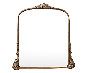 Anthropologie Silver Gleaming Primrose Mirror