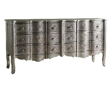 Anthropologie Hand-Embossed 6 Drawer Dresser