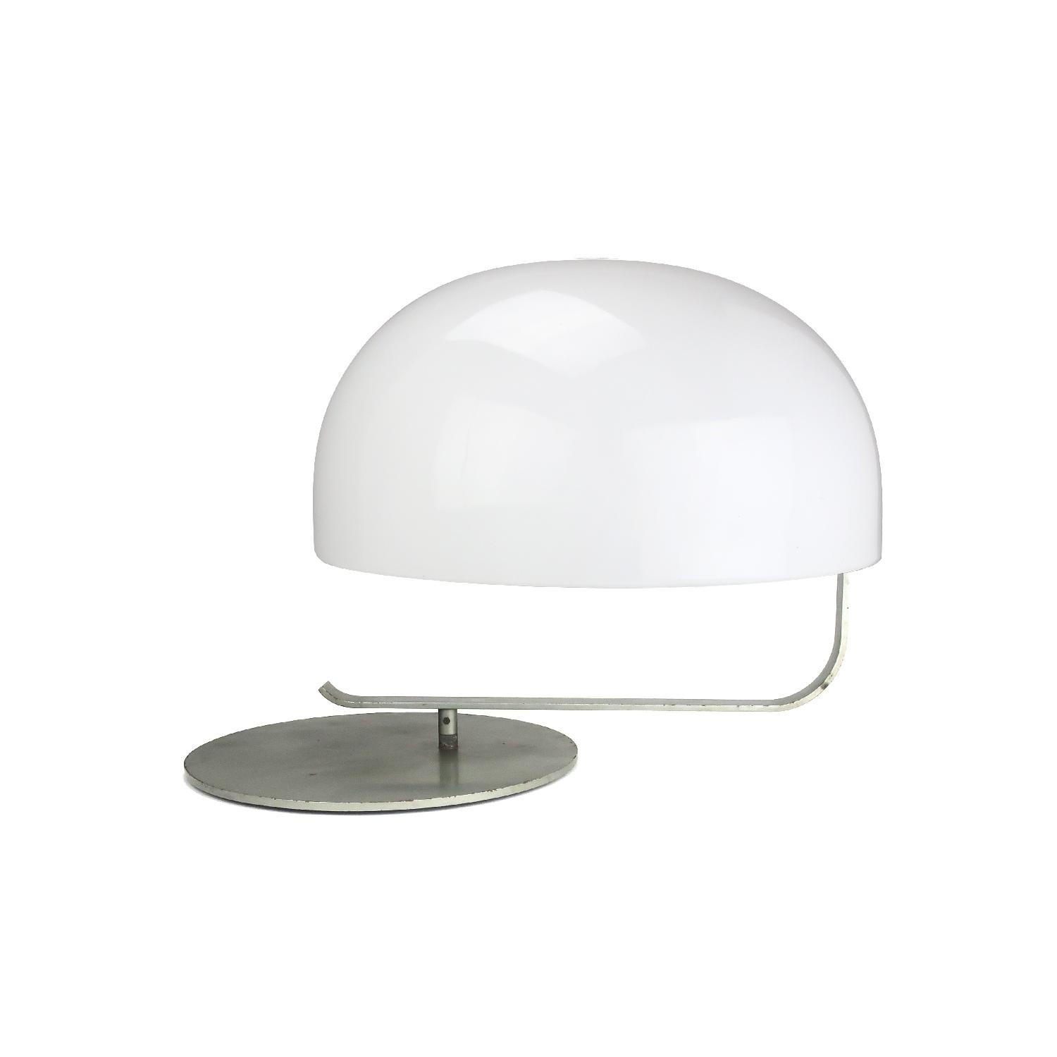 Vintage 1970s Rotating Dome Table Lamp