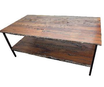 Arhaus Furniture Reclaimed Wood Coffee Table