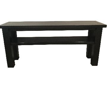 Solid Dark TV Stand/Console