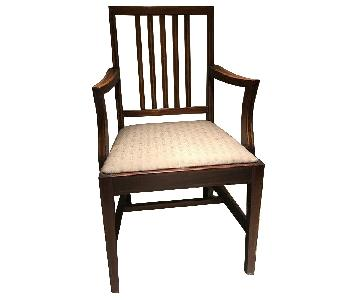 Vintage Wood Dining Chairs