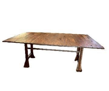 Handmade Reclaimed Wood Dining Table