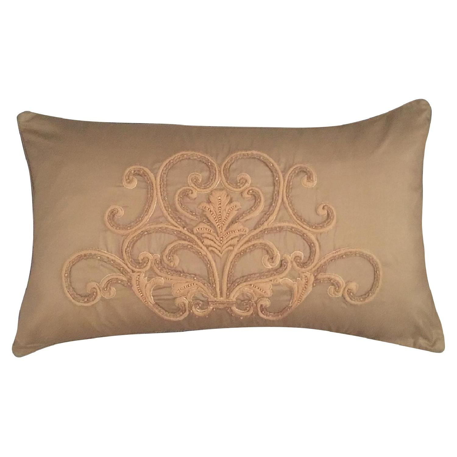 Scroll Medallion Throw Pillow