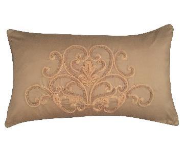 Scroll Medallion Throw Pillow