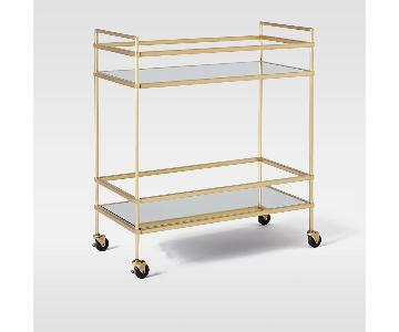 West Elm Terrace Bar Cart