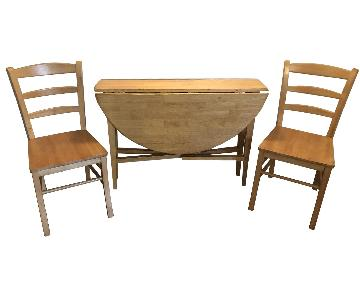 3-Piece Expandable Dining Set